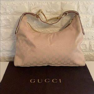 Baby Pink Gucci Shoulder Bag